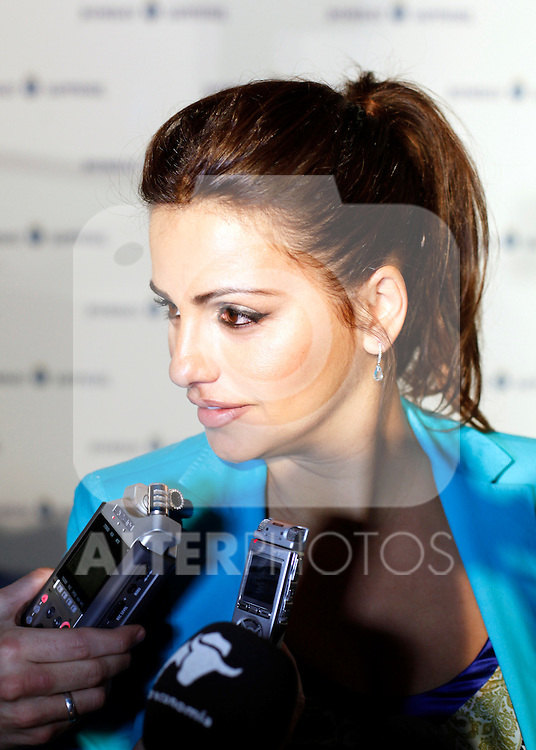 Actress Monica Cruz presents the Bombay Sapphire summer, the gin brand will promote their roducts along the spanish beaches during the summer. June 5, 2013. (Victor J Blanco/Alterphotos)