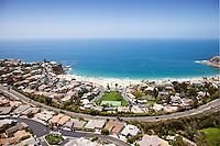 Laguna Beach Coastline Aerial Photo