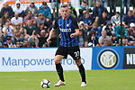 July 15th 2017;  Brunico, Dolomites, South Tyrol, Italy; Pre-season friendly Football Match Inter Milan versus Nuremberg; Pictured : 37 Milan Skriniar