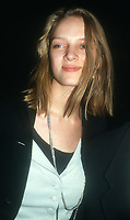 Uma Thurman<br /> 1990<br /> Photo By John Barrett/CelebrityArchaeology.com