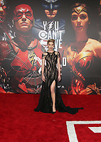 LOS ANGELES, CA - NOVEMBER 13: Amber Heard, at the Justice League film Premiere on November 13, 2017 at the Dolby Theatre in Los Angeles, California. Credit: Faye Sadou/MediaPunch /NortePhoto.com