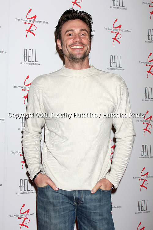 Daniel Goddard .arrivng at The Young & The Restless 37th Anniversary Dinner.Via Allorro.Beverly Hills, CA.March 9, 2010.©2010 Kathy Hutchins / Hutchins Photo....