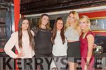 Second year students from the IT Tralee doing social studies celebrating end of year at Restaurant Uno's on Thursday night were Jovana Nikolic,Rebecca Bennett,Laurie O'Connor,Chloe Kingston and Emma Murnane