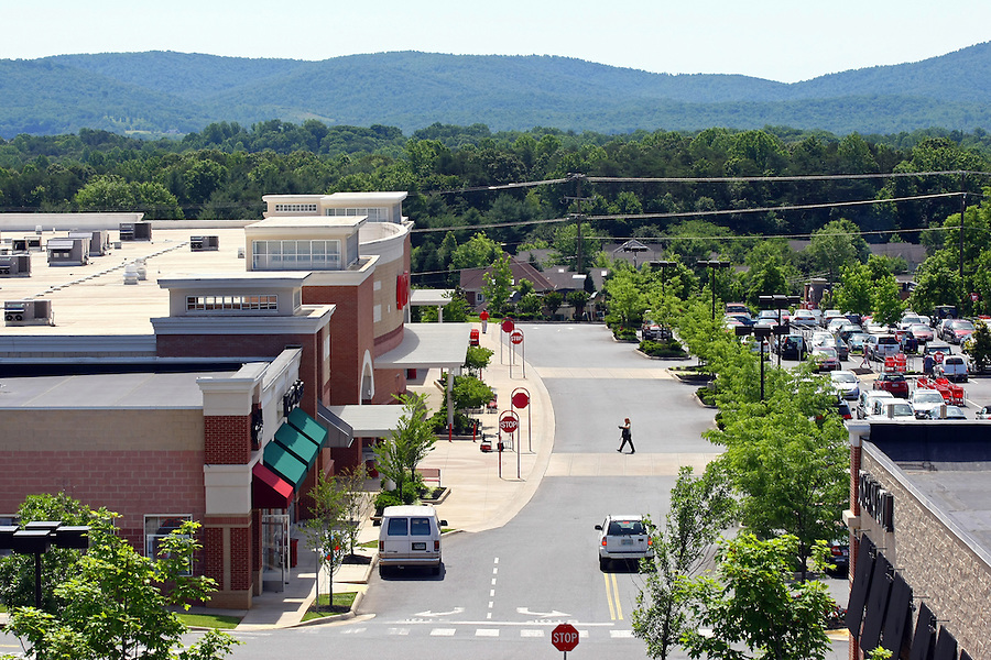 Shopping in Charlottesville/Albemarle County at Target.