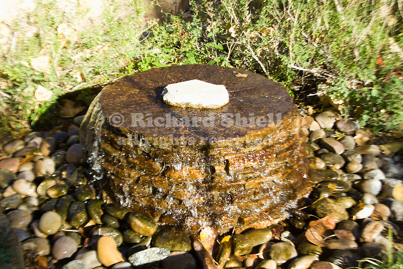 FOUNTAIN OF STACKED ROCK