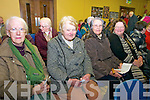 Rural Post Offices Meeting:  Attending the meeting on rural post offices held in Marian Hall, Moyvane on Tuesday night last were Kitty Windle, Kitty Kissane, Nora Sheehy & Brid Flavin.