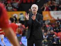 20200206 – OOSTENDE ,  BELGIUM : Belgian assistant coach Pierre Cornia pictured during a basketball game between the national teams of Canada and the National team of Belgium named the Belgian Cats on the first matchday of the FIBA Women's Qualifying Tournament 2020 , on Thursday 6  th February 2020 at the Versluys Dome in Oostende  , Belgium  .  PHOTO SPORTPIX.BE   DAVID CATRY