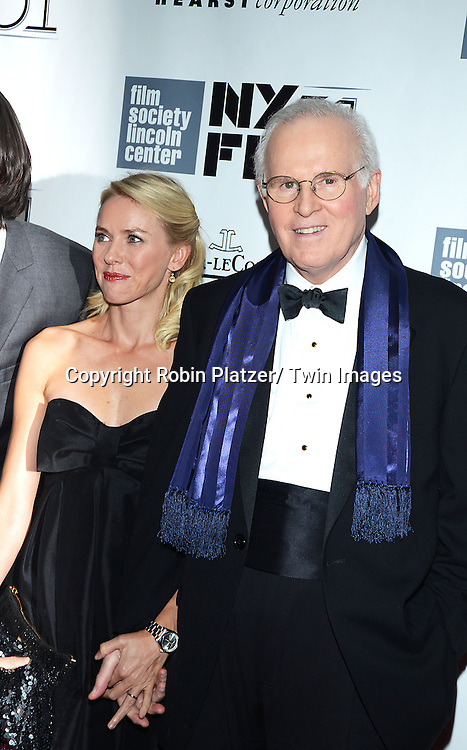 Naomi Watts and Charles Grodin attend the 2013 New York Film Festival Opening Night Premiere of &quot;Captain Phillips&quot; on September 27, 2013 at <br /> Alice Tully Hall in New York City.
