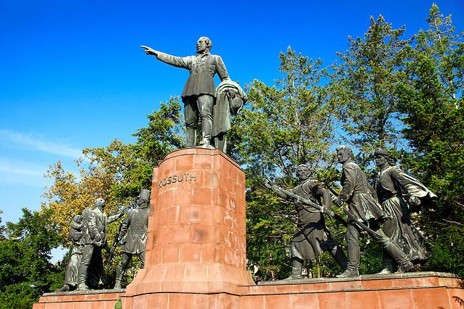 Lajos Kossuth monument, Kossuth Square, Budapest, Hungary