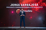 President Jorge Garbajosa during the official presentation of Spanish National Team of Basketball.  July 24, 2019. (ALTERPHOTOS/Francis Gonzalez)
