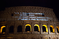 10.12.2018 - #DirittiATestaAlta - Candlelight Vigil For Human Rights At The Colosseum