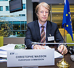 BRUSSELS - BELGIUM - 25 November 2016 -- European Training Foundation (ETF) Governing Board meeting. -- Christophe Masson, Policy Officer DG NEAR A3 - European Commission. -- PHOTO: Juha ROININEN / EUP-IMAGES