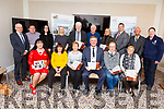 Attending the launch of the Mitchels Boherbee Community Regeneration Projects 2019 calendar &ldquo;Memories of times gone by&rdquo; in the Rose Hotel on Monday night.<br /> Seated l to r: Caroiline Toal, Phil Barrett, Catherine Healy, Cllr: Graham Spring (Mayor of Tralee), Helena Sanker and Marion McCormack.<br /> Standing l to r: Michael Scannell (KCC), Paul Johnson, Paula O&rsquo;Sullivan, Deirdre Guerin, Johnny Wall, John Duggan, Delores McElligott, Andy Smith, Cllr: Sam Locke and Gda Kathy Murphy.