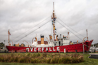 Lightship Overfalls - The Lightship Overfalls is one of only 17 remaining lightships on the Chesapeake Bay out of a total of 179 built from 1820 - 1952.