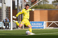 Glenn Morris of Crawley Town takes a goal kick during Colchester United vs Crawley Town, Sky Bet EFL League 2 Football at the JobServe Community Stadium on 13th October 2018