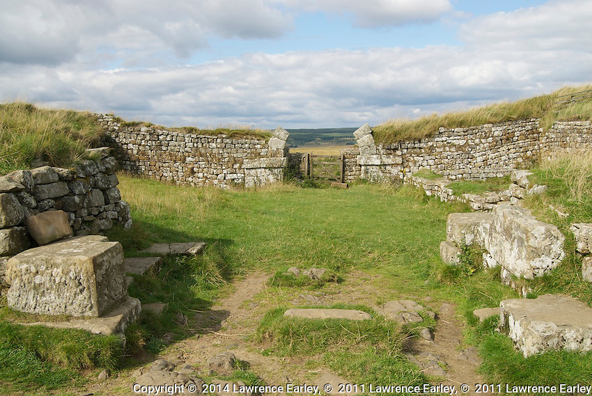 Day 2 - Milecastle 37, on Housesteads Crags
