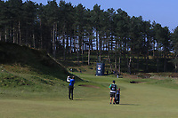 Raphael Jacquelin (FRA) on the 11th fairway during Round 3 of the Betfred British Masters 2019 at Hillside Golf Club, Southport, Lancashire, England. 11/05/19<br /> <br /> Picture: Thos Caffrey / Golffile<br /> <br /> All photos usage must carry mandatory copyright credit (&copy; Golffile | Thos Caffrey)