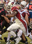 Arizona Cardinals running back David Johnson (31) finds room to run on Thursday, October 06, 2016 at Levis Stadium in Santa Clara, California. The Cardinals defeated the 49ers 33-21.