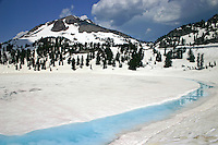 Lassen Volcanic National Park in July