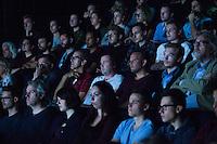 Nederland, Utrecht, 23 september 2016. Het Nederlands Film Festival 2016. Programma onderdeel Seminar Visual Effects, in de Nationale Filmconferentie. Publiek tijdens Seminar Foto: 31pictures.nl / (c) 2016, www.31pictures.nl