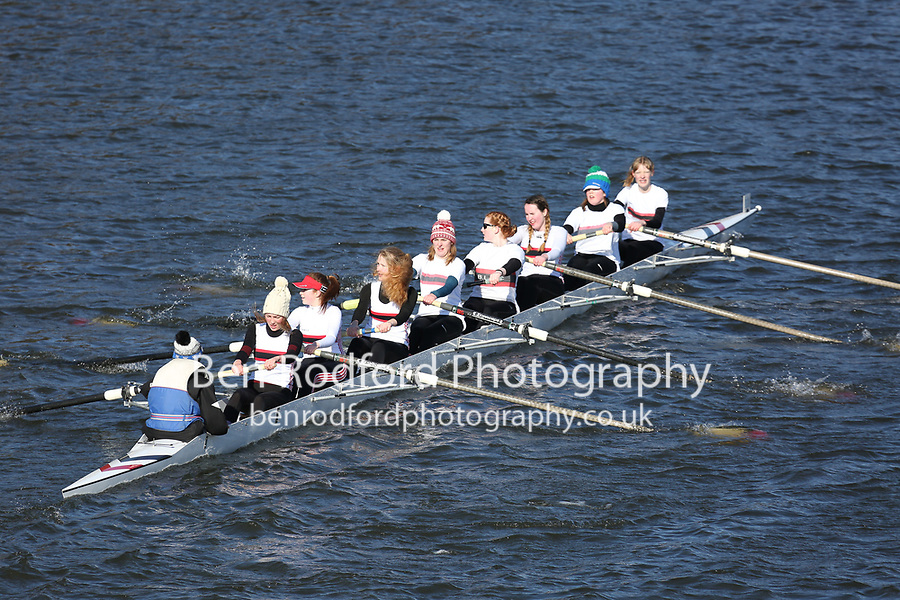 Crew: 11   Burton Leander Rowing Club   BUL-PRESS   W.Beginner.8+<br /> <br /> Head of the Trent 2018<br /> Division 2<br /> <br /> To purchase this photo, or to see pricing information for Prints and Downloads, click the blue 'Add to Cart' button at the top-right of the page.