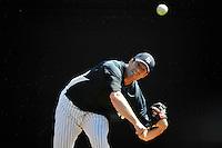 Feb 23, 2010; Tampa, FL, USA; New York Yankees  pitcher Zach McAllister (80) during  team workout at George M. Steinbrenner Field. Mandatory Credit: Tomasso De Rosa