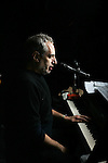 NEW YORK - FEBRUARY 18, 2006:  Donald Fagen, of Steely Dan, rehearses at SIR studios on February 18, 2006 in New York City.  Fagen has a new solo album, Morph the Cat. (Photograph by Michael Nagle)