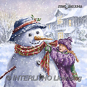 Marcello, CHRISTMAS SANTA, SNOWMAN, WEIHNACHTSMÄNNER, SCHNEEMÄNNER, PAPÁ NOEL, MUÑECOS DE NIEVE, paintings+++++,ITMCXM1334A,#X#