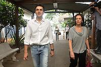 SAO PAULO, SP, 25 DE JULHO 2012 – O candidato a prefeito Gabriel Chalita (PMDB) visita com sua vice Marianne Pinotti o Hospital Dr. Benedito Monte Negro, na zona leste da capital. (FOTO: THAIS RIBEIRO / BRAZIL PHOTO PRESS).