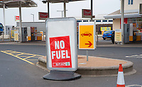 Shell fuel station, Preston, Lancashire.