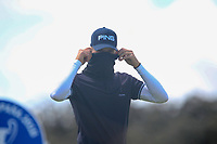 Brandon Stone (RSA) on the 11th tee during Round 2 of the Open de Espana 2018 at Centro Nacional de Golf on Friday 13th April 2018.<br /> Picture:  Thos Caffrey / www.golffile.ie<br /> <br /> All photo usage must carry mandatory copyright credit (&copy; Golffile | Thos Caffrey)