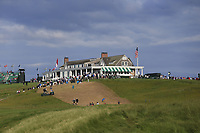 The clubhouse during Friday's Round 2 of the 118th U.S. Open Championship 2018, held at Shinnecock Hills Club, Southampton, New Jersey, USA. 15th June 2018.<br /> Picture: Eoin Clarke | Golffile<br /> <br /> <br /> All photos usage must carry mandatory copyright credit (&copy; Golffile | Eoin Clarke)