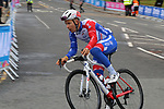 Practice time for the teams before the Men Elite Individual Time Trial of the UCI World Championships 2019 running 54km from Northallerton to Harrogate, England. 25th September 2019.<br /> Picture: Seamus Yore | Cyclefile<br /> <br /> All photos usage must carry mandatory copyright credit (© Cyclefile | Seamus Yore)