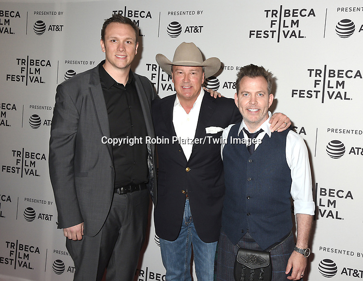 Brian Cavallaro, Gordon Whitener &amp;     attends the Dog Years&quot; screening at the Tribeca Film Festival on April 22, 2017 at Cinepolis Chelsea in New York, New York, USA.<br /> <br /> photo by Robin Platzer/Twin Images<br />  <br /> phone number 212-935-0770