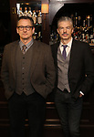 """Joe Forbich and Thomas Michael Hammond attends the Broadway cast of """"The Iceman Cometh""""  Press Photocall at Delmonico's on April 11, 2018 in New York City."""