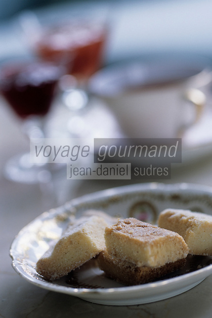 "Europe/Grande-Bretagne/Ecosse/Moray/Speyside/Glenlivet : Hôtel de charme ""Minmore House"" - Scones avec le thé"