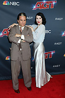 "LOS ANGELES - AUG 20:  Chris Doyle, Steffi Kay, The Sentimentalists at the ""America's Got Talent"" Season 14 Live Show Red Carpet at the Dolby Theater on August 20, 2019 in Los Angeles, CA"