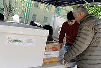 Roma, 30 Aprile 2017<br /> Gazebo a Tor Sapienza<br /> Voto Primarie Partito Democratico