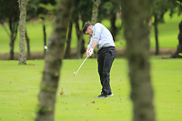 Thomas Finnegan (Co.Sligo) on the 18th during the Final of the AIG Barton Shield in the AIG Cups & Shields Connacht Finals 2019 in Westport Golf Club, Westport, Co. Mayo on Saturday 10th August 2019.<br /> <br /> Picture:  Thos Caffrey / www.golffile.ie<br /> <br /> All photos usage must carry mandatory copyright credit (© Golffile | Thos Caffrey)