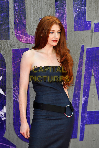 LONDON, ENGLAND - AUGUST 3: Nicola Roberts attending the 'Suicide Squad' European Premiere at Odeon Cinema, Leicester Square on August 3, 2016 in London, England.<br /> CAP/MAR<br /> &copy;MAR/Capital Pictures