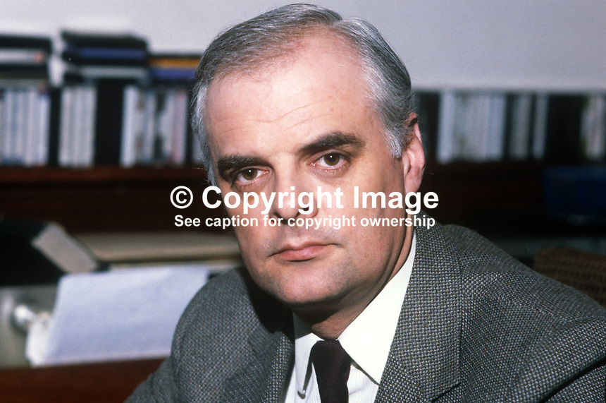 Rev Ivan Foster, Kilskeery, Co Tyrone, N Ireland, clergyman, Free Presbyterian Church, founded by Rev Ian Paisley. 198201001IF1..Copyright Image from Victor Patterson, 54 Dorchester Park, Belfast, UK, BT9 6RJ..Tel: +44 28 9066 1296.Mob: +44 7802 353836.Voicemail +44 20 8816 7153.Skype: victorpattersonbelfast.Email: victorpatterson@me.com.Email: victorpatterson@ireland.com (back-up)..IMPORTANT: If you wish to use this image or any other of my images please go to www.victorpatterson.com and click on the Terms & Conditions. Then contact me by email or phone with the reference number(s) of the image(s) concerned.