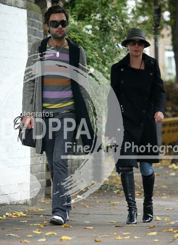 LONDON <br /> PICTURES BY: ROB KEARNEY/EAGLEPRESS<br /> PLEASE CREDIT ALL USES<br /> ----------------------------------<br /> BOOTYFUL SADIE FROST OUT AND ABOUT WITH A NEW MYSTERY MAN...<br /> ----------------------------------<br /> CONTACT:  JAVIER MATEO <br /> 16 NORTH POLE ROAD<br /> LONDON W10 6QL<br /> MOBILE: +44 778651 4443<br /> EMAIL: photos@eaglephoto.co.uk