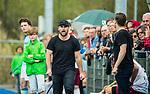 ALMERE - Hockey - Hoofdklasse competitie heren. ALMERE-HGC (0-1) . Almere coach  Pasha Gademan (Almere)  . rechts Bert Remmerswaal (Almere)  COPYRIGHT KOEN SUYK
