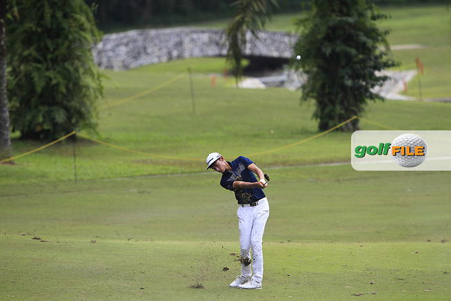 Micah Lauren Shin (USA) in action on the 6th fairway during Round 1 of the Maybank Championship at the Saujana Golf and Country Club in Kuala Lumpur on Thursday 1st February 2018.<br /> Picture:  Thos Caffrey / www.golffile.ie<br /> <br /> All photo usage must carry mandatory copyright credit (© Golffile | Thos Caffrey)