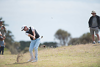 Aaron Townsend (AUS) during the final round of the VIC Open, 13th Beech, Barwon Heads, Victoria, Australia. 09/02/2019.<br /> Picture Anthony Powter / Golffile.ie<br /> <br /> All photo usage must carry mandatory copyright credit (&copy; Golffile | Anthony Powter)