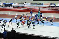 SPEED SKATING: SALT LAKE CITY: Nov. 2015, Utah Olympic Oval, ISU World Cup,  ©foto Martin de Jong