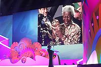 COSTA DO SAUIPE, BA, 06.12.2013 - COPA 2014 - SORTEIO FINAL DA COPA DO MUNDO 2014 - Homenagem a Nelson Mandela durante o sorteio Final da Copa do Mundo de 2014 na Costa do Sauipe litoral norte da Bahia, nesta sexta-feira, 06. (Foto: Vanessa Carvalho / Brazil Photo Press).