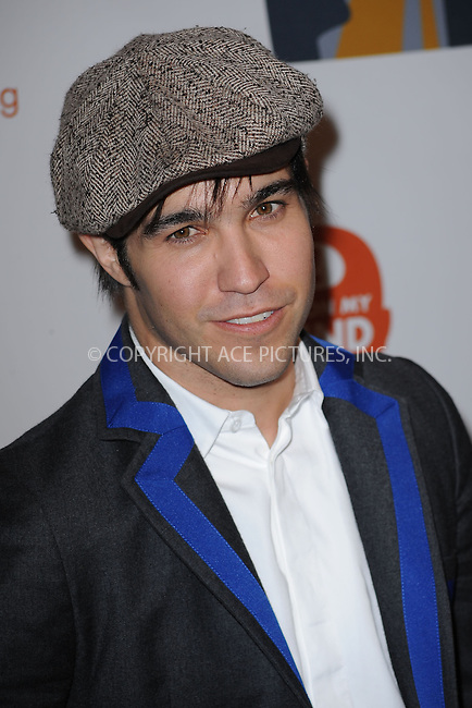 WWW.ACEPIXS.COM . . . . . ....June 11 2009, New York city....Musician Pete Wentz at the 8th Annual Jed Foundation Gala at Guastavino's on June 11 2009 in New York City.....Please byline: KRISTIN CALLAHAN - ACEPIXS.COM.. . . . . . ..Ace Pictures, Inc:  ..tel: (212) 243 8787 or (646) 769 0430..e-mail: info@acepixs.com..web: http://www.acepixs.com