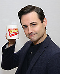 "Max von Essen attends the Meet the Cast of  ""Falsettos"" during the rehearsal media day at the New Ripley Grier on January 25, 2019 in New York City."