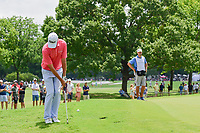 Sean O'Hair (USA) chips on to 2 during round 3 of the Dean &amp; Deluca Invitational, at The Colonial, Ft. Worth, Texas, USA. 5/27/2017.<br /> Picture: Golffile | Ken Murray<br /> <br /> <br /> All photo usage must carry mandatory copyright credit (&copy; Golffile | Ken Murray)